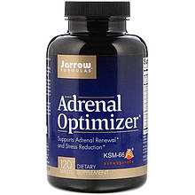 """Поддержка надпочечников Jarrow Formulas """"Adrenal Optimizer"""" (120 таблеток)"""
