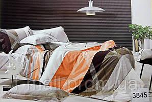 Комплект постельного белья ELWAY (Польша) Сатин семейный (3845)