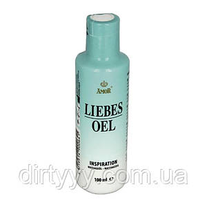 """Массажное масло - Love massage oil """"INSPIRATION"""" with lime, 100ml"""