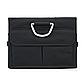Органайзер в Багажник Машины Вместительный 60л Оксфорд 1680D Черный (SB-001), фото 3