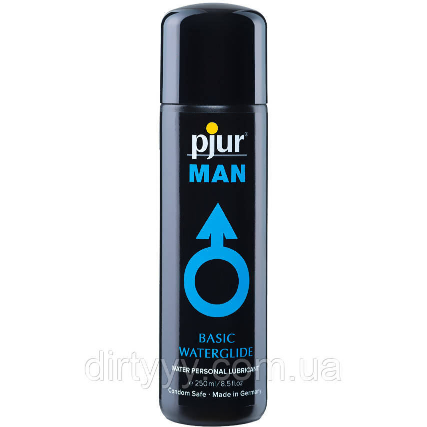 Лубрикант на водной основе - Pjur MAN Basic water glide,  250ml