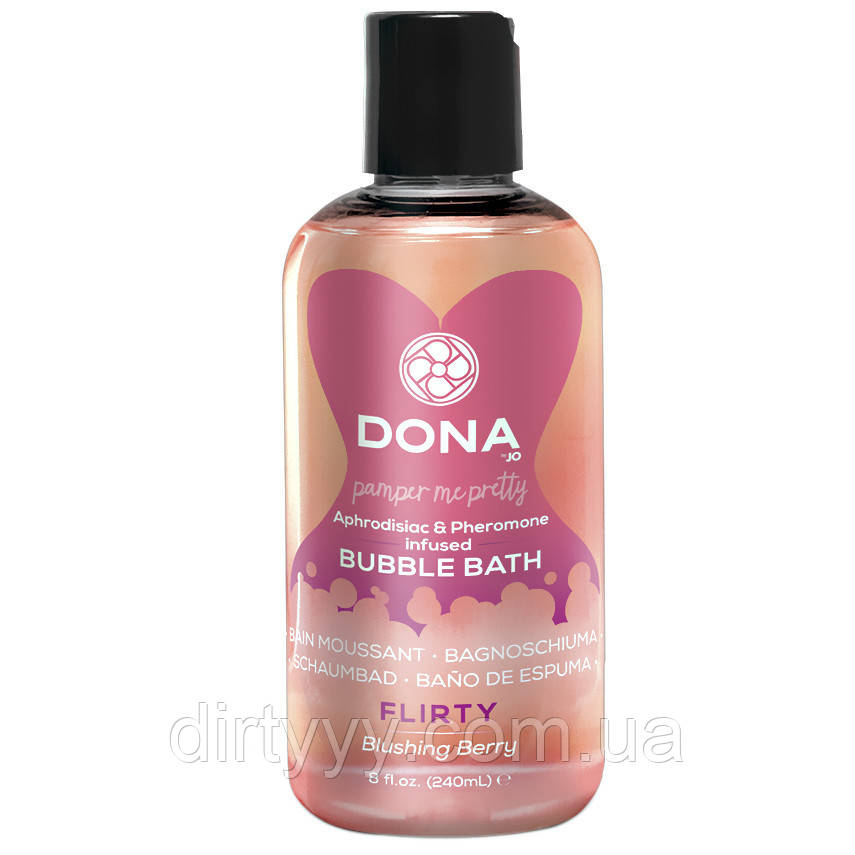 Пена для ванны - Dona Bubble Bath - Flirty Blushing Berry