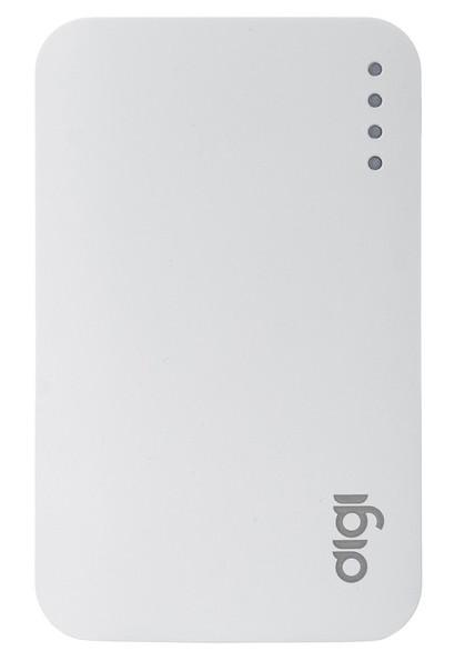УМБ Power Bank (внешний аккумулятор) для телефона DIGI LI-33 7500 mAh Li-ion Белый