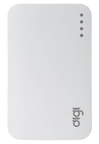 УМБ Power Bank (внешний аккумулятор) для телефона DIGI LI-33 7500 mAh Li-ion Белый, фото 2