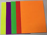 Картон гофрированный, неоновый 5 цветов-10 листов А4 8067-1