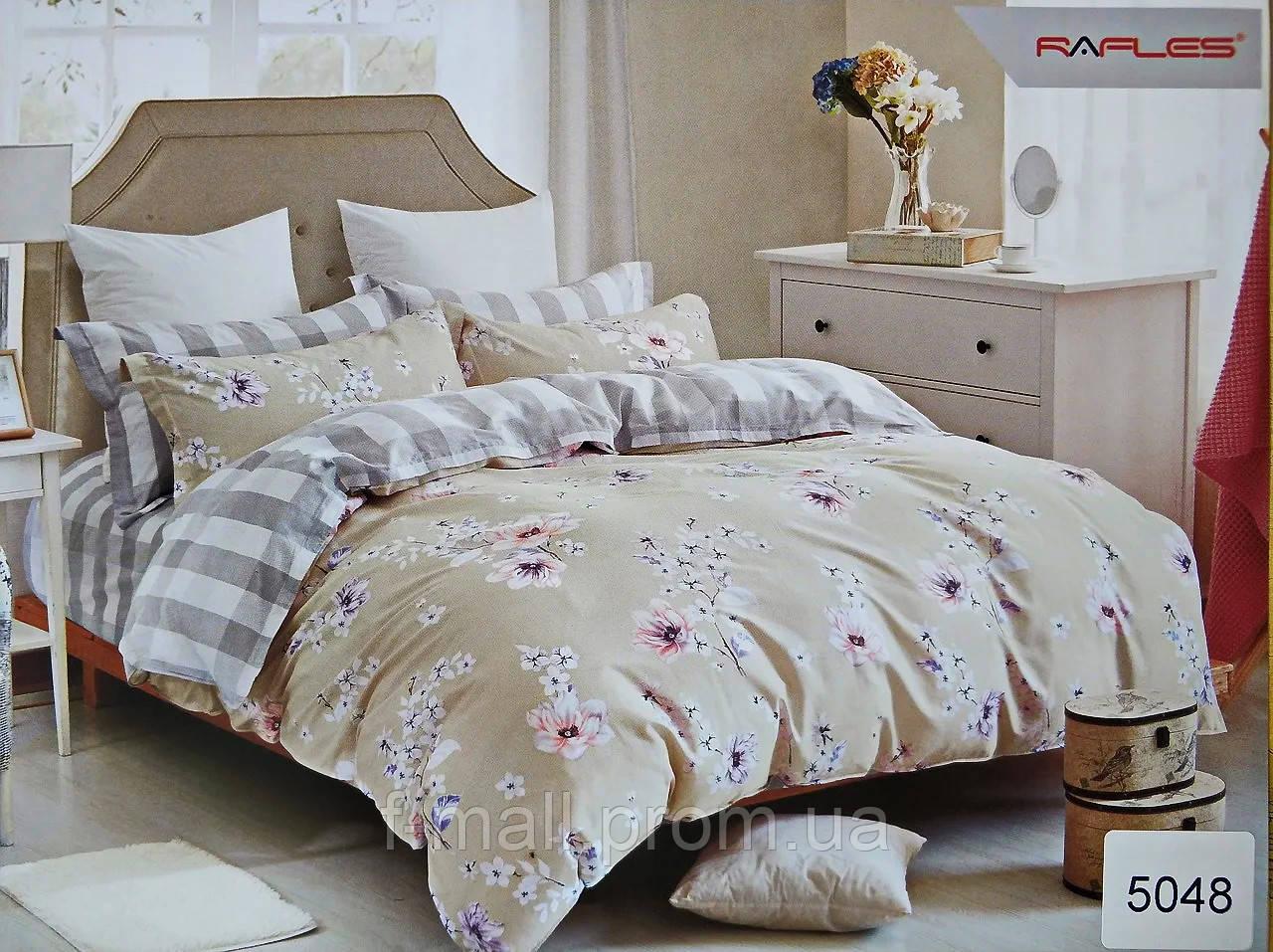 Комплект постельного белья ELWAY (Польша) Сатин семейный (5048)