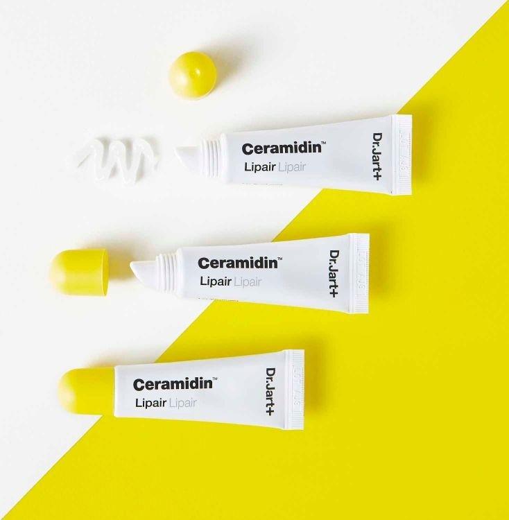 Лечебный бальзам с маслом ши и керамидами Dr.Jart+ Ceramidin Lip pair