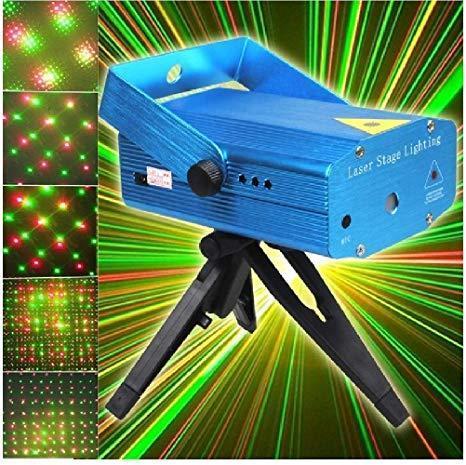 Лазерный проектор Mini Laser Stage light Pro 3