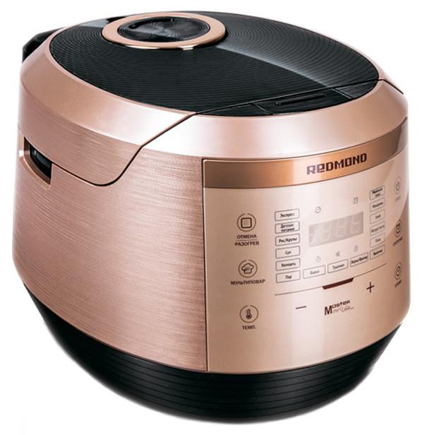 Мультиварка Redmond RMC-450 4.5 л 16 программ 860 Вт Золотистый / Черный