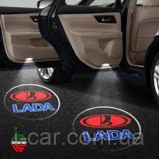 Проекція логотипу автомобіля LADA