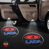 Проекция логотипа автомобиля LADA