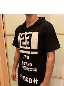 Удлиненная футболка с капюшоном DGD Dark Tide