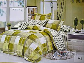 Комплект постельного белья ELWAY (Польша) Сатин семейный (246)