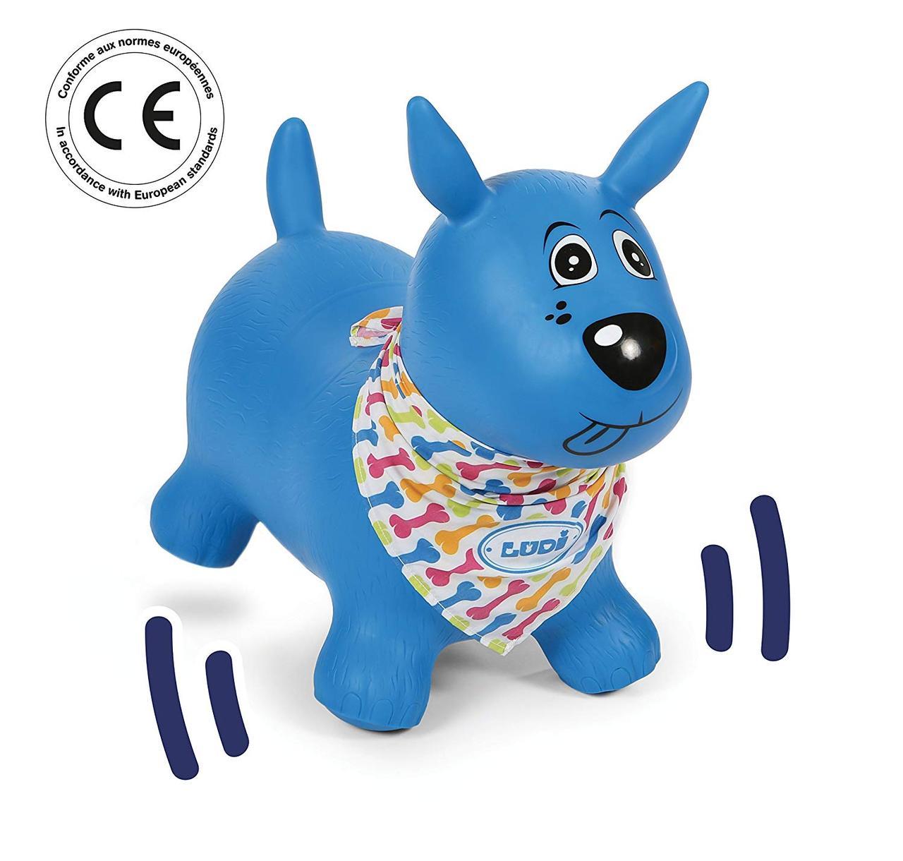 LUDI - Синяя прыгающая собака