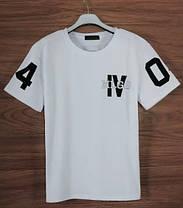 Белая  Гетто футболка с номером NPC 04, фото 3