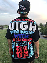 Широкая футболка с принтом Swag Хип-Хоп, фото 3