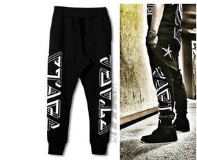 Ghettо Goth Black Geometry штаны