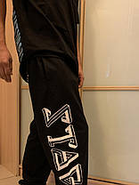 Ghettо Goth Black Geometry штаны, фото 3