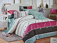 Комплект постельного белья ELWAY (Польша) Сатин семейный (953)