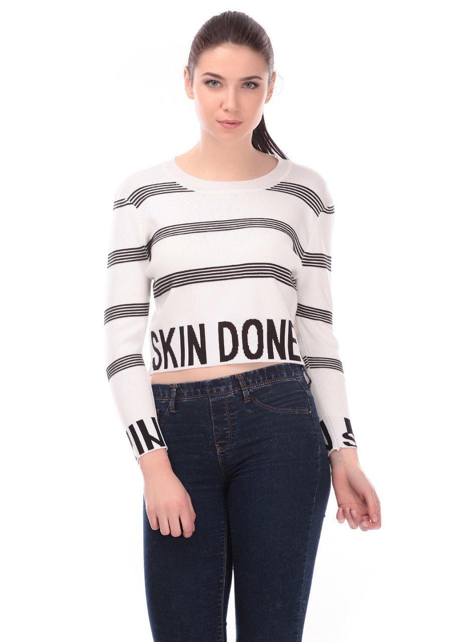 Кофта женская LadiesFashion 4025 (Белый M/L)