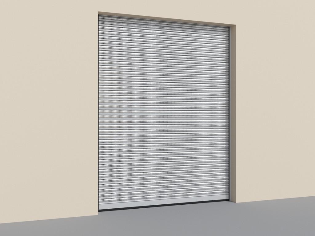 DoorHan RHS117P/08 — Рулонные ворота из перфорированного стального профиля