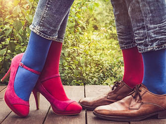 Носки женские и мужские