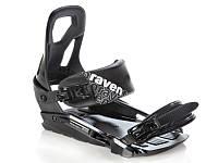 Крепление для сноуборда Raven S200 Black Green 2020, фото 1