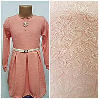 Нарядное платье красивое, детское  Кристина  размер 30, 32, 34, 36  с кружевом  ,   купить