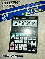 Калькулятор Citizen 5812L для бухгалтеров