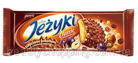 Jezyki Classic печенье в шоколаде с изюмом и сухофруктами Golpana 140g