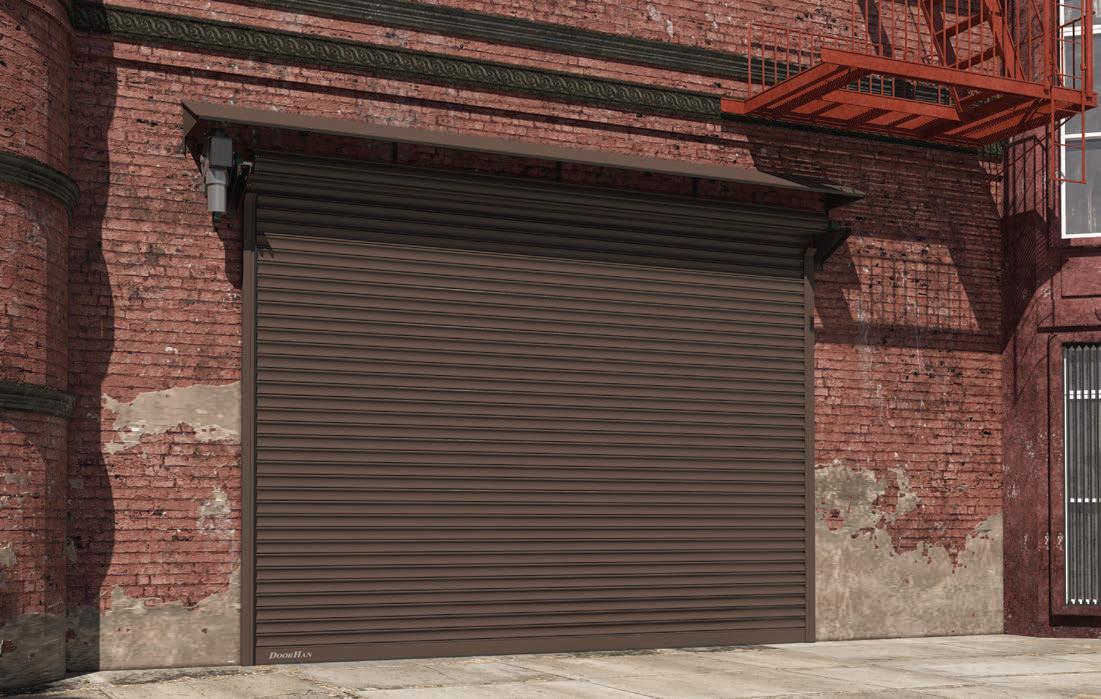 DoorHan RHS117 — Стальные рулонные ворота из сплошного профиля