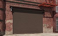 DoorHan RHS117 — Стальные рулонные ворота из сплошного профиля, фото 1