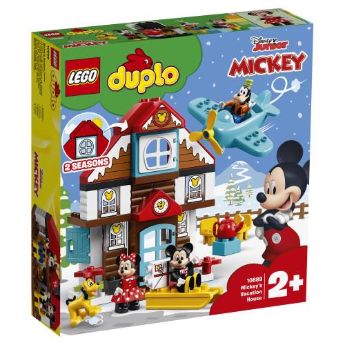 Конструктор LEGO DUPLO Disney Домик Микки     10889