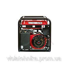 Генератор бензиновий WEIMA WM5500Е (5,5 кВт, електростартер, 1 фаза), фото 3