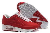 Кроссовки женские Nike Air Max 90 VT Tweed (nike max, найк аир макс, nike air, оригинал) красные