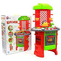Детская игрушечная мебель Кухня арт.0847 (салатово-оранжевая).