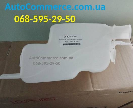 Бачок омывателя лобового стекла Hyundai HD65, HD78, HD72 Хюндай HD(983005H112), фото 2