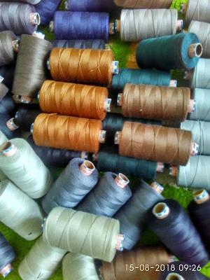Нитки швейні товщина 30- 50 для оздоблювальних швів, шкіра