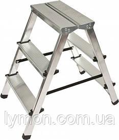 Стрем'янка алюмінієва двостороння 3 ступені Drabest