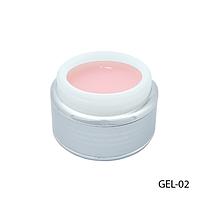 Розовый моделирующий гель Густой гель мерцающего розово-перламутрового оттенка Lady Victory