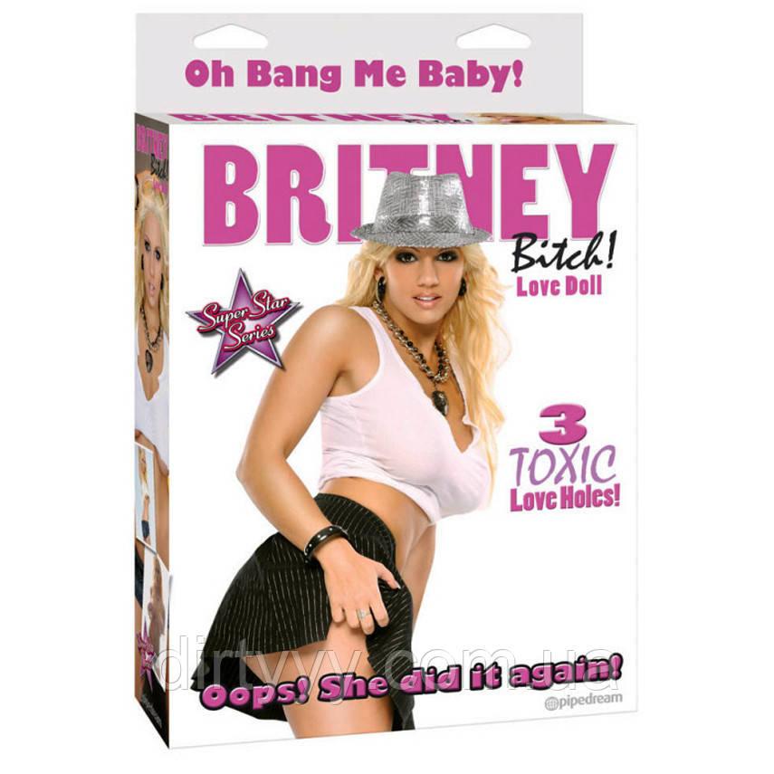 Секс кукла BRITNEY BITCH! LOVE DOLL, цвет: телесный