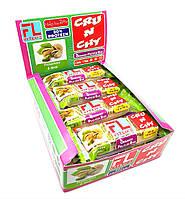 Упаковка батончиков FitLife Crunchy Bar Фисташки с орехами 12 шт х 50 г