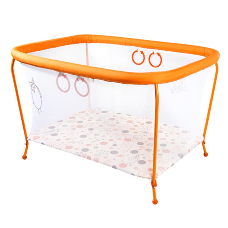 Манеж OMMI Classic оранжевый