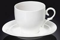 Чашка фарфоровая для чая+блюдце WILMAX WL-993009 220 мл
