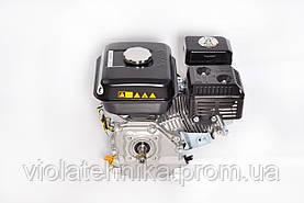 Двигатель бензиновый GrunWelt GW170F-T/25 NEW Евро 5 (шлицы 25 мм, 7.0 л.с.), фото 3