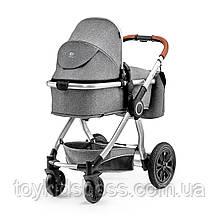 Универсальная коляска 2 в 1 Kinderkraft Veo Gray (KKWVEOGRY20000)