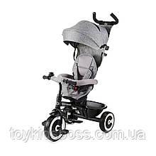 Триколісний велосипед Kinderkraft Aston Grey (KKRASTOGRY0000)