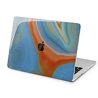 Чехол пластиковый для Apple MacBook (Мрамор, акварель) модели Air Pro Retina 11 12 13 15 16 2018/19/20 эпл макбук эйр про ретина case hard cover
