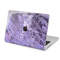 Чехол пластиковый для Apple MacBook (Акварель фиолетового цвета) модели Air Pro Retina 11 12 13 15 16 2018/19/20 эпл макбук эйр про ретина case hard