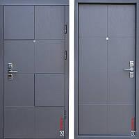 Дверь входная металлическая ZIMEN Blok l Дуб графит l Optima Plus